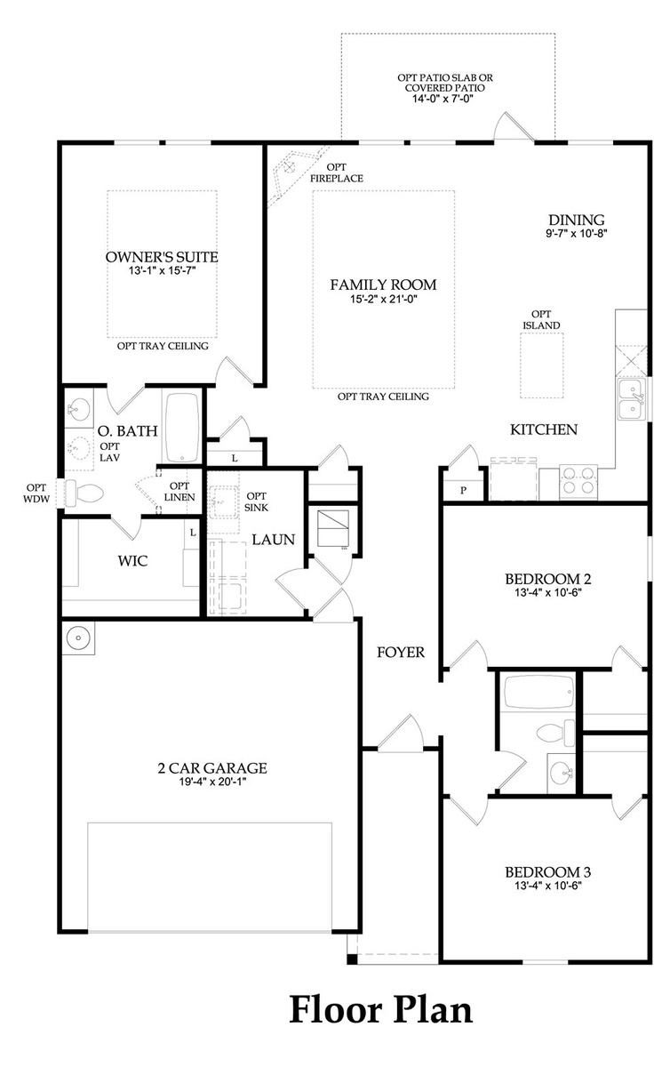 Old centex homes floor plans for House model with floor plan