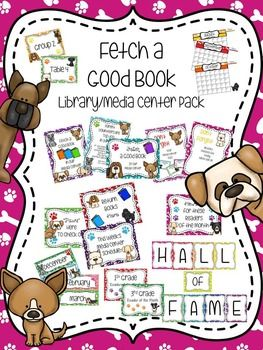 fetching free at home date ideas. Fetch A Good Book Library Media Center Pack  with EDITABLE passes and signs 12 best Dog Theme images on Pinterest Classroom ideas