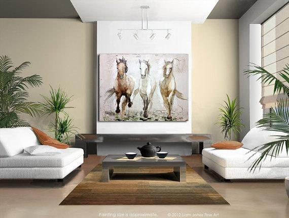 3 X 4 Contemporary Equine Horse Art Gicle By Liamjonesart 35000