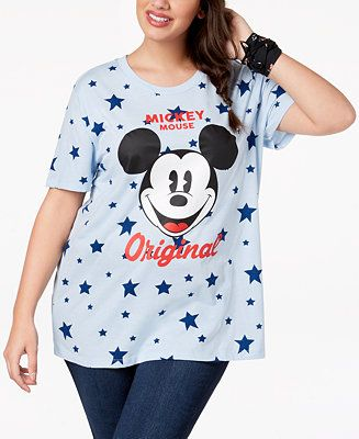 5ce13723343d5 Explore these ideas and more! Shop Plus Size Mickey Mouse ...