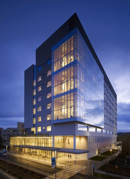 Randall Children's Hospital by ZGF Architects LLP - Oregan