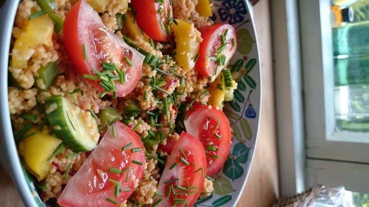 Kuskus-salaatti käyttäjältä valokk1.