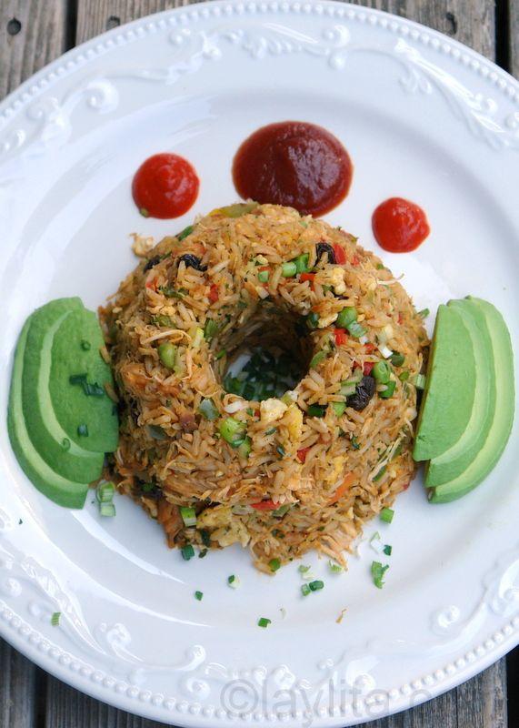 Chaulafan de pollo / Ecuadorian chicken fried rice