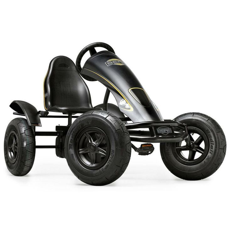 "A pedal go-kart for grownups! Good exercise, and a lot of fun. ""I have one to ride with my kid and his berg rally (nice) but he wants mine more! Fun exercise."" --Home Depot customer john"