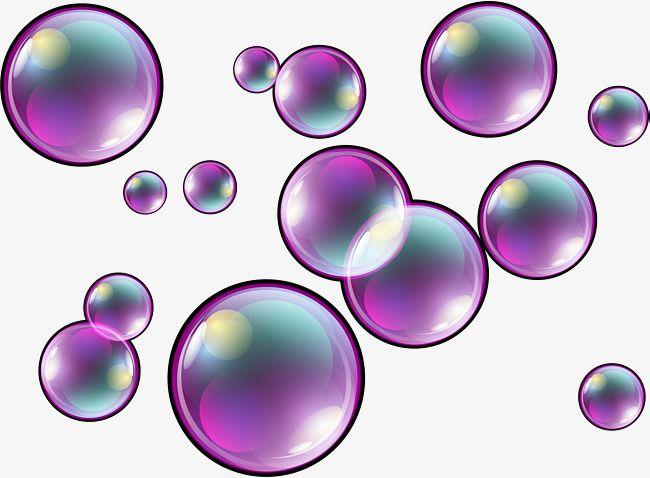 Bubble purple. Dream png transparent image