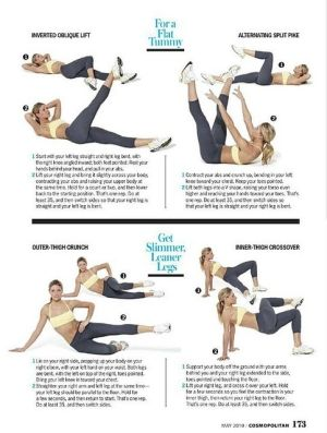 Tracy Anderson Tummy and leg exercises by Rrain