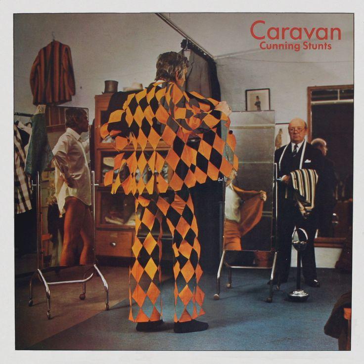 Caravan - Cunning Stunts album art