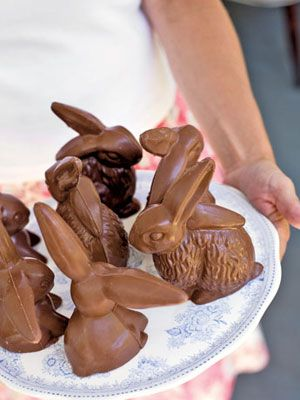 Nothing says #Easter like chocolate bunnies! #dessert