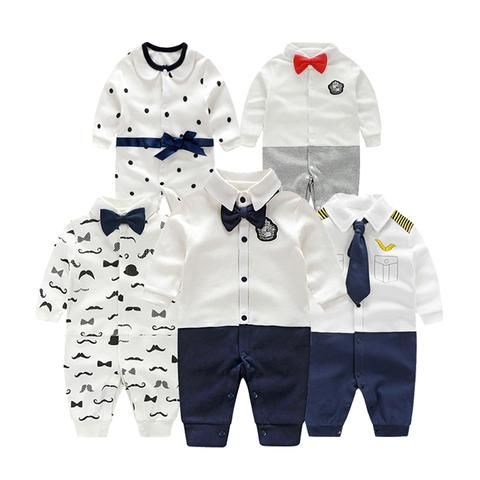 d7086dcd035a3 Baby Rompers Children Autumn Clothing Set Newborn Baby Clothes ...