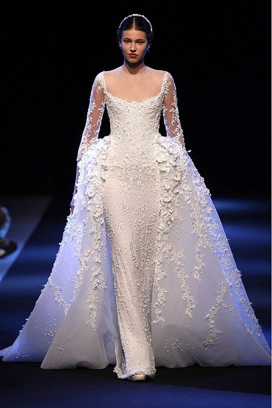 haute couture wedding gowns | ... are our favorite haute couture bridal gowns from couture week in paris