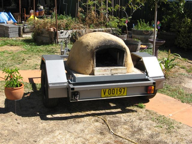 Portable Wood Fired Pizza Oven For Hire
