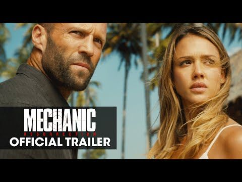 Jason Statham Takes Ass Kicking To Ridiculous New Heights In The 'Mechanic…