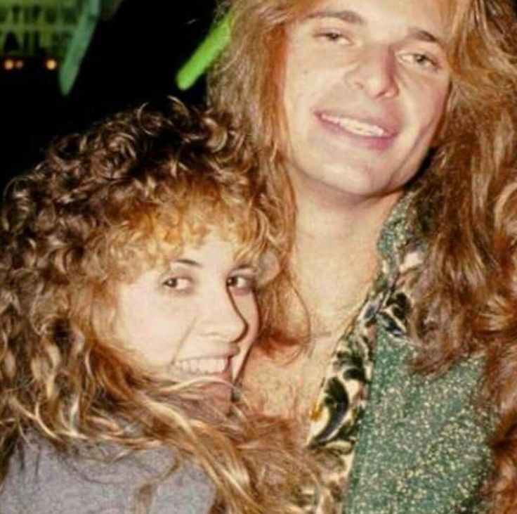 Stevie Nicks & David Lee Roth.