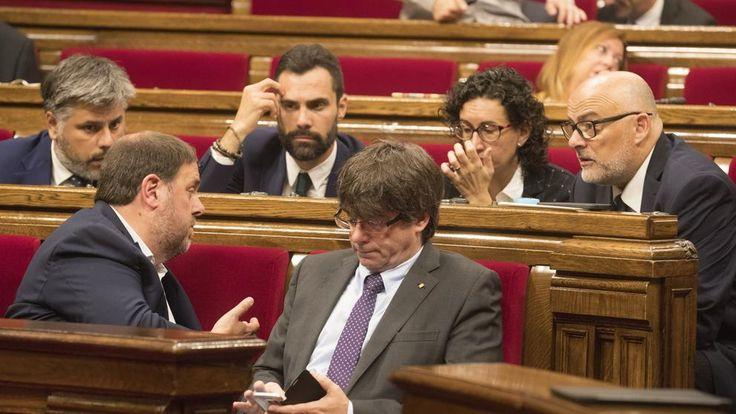Pleno del Parlament: La aprobación de la Ley de Transitoriedad Jurídica, en directo