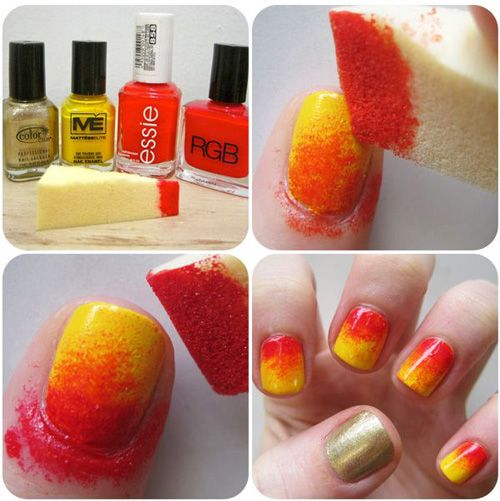 7 Best Sponge Nail Art Designs