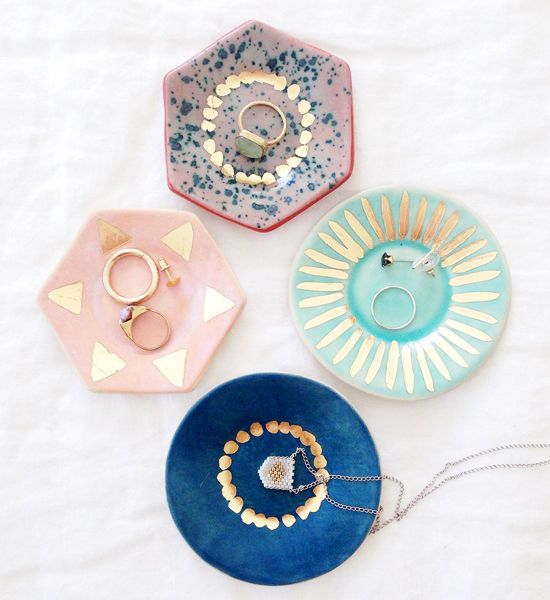 very cute ring dishes