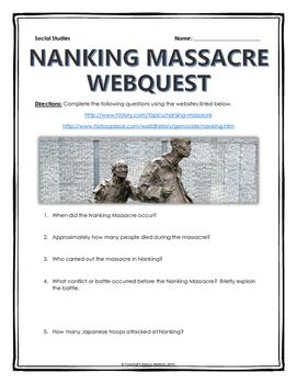 main reasons for the nanking massacre Find out more about the history of nanking massacre, including videos, interesting articles, pictures, historical features and more get all the facts on historycom.