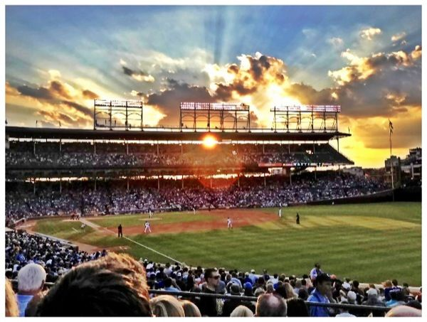 WRIGLEY FIELD | Chicago Cubs We will be here on opening day 2014 I can't wait!!!! :))