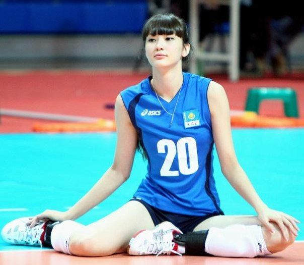 Sabina Altynbekova beautiful athlete volleball Kazakhstan