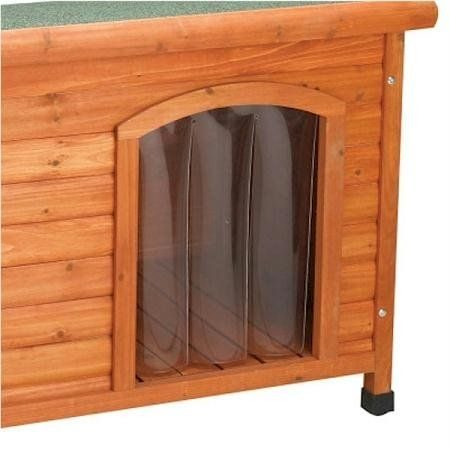 Dog Door Reviews : This Premium Plus Door Flap Helps Eliminate Drafts And  Protects Pets From