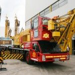 Spierings mobile tower crane SK498-AT4 from RKB