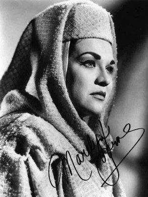Marilyn Horne -  mezzo soprano  ( I really could listen to her all day, incredible voice)