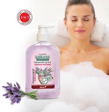 Sapun lichid cu lavanda 3 in 1. http://life-care.com/produs/Sapun-lichid-3-in-1-cu-lavanda-si-plante-BIO-Kr%C3%A4uter%C2%AE-4104/K04Z/RO/?itemID=17728