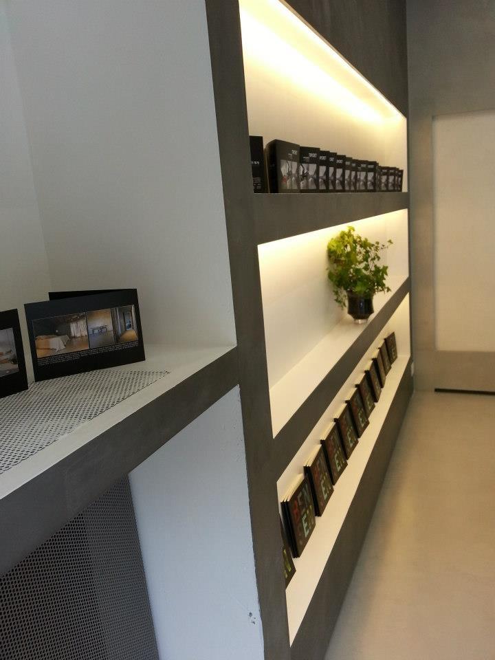 Cbf Cement Board Fabricators Residential Projects: Topcret, Microcemento, Italia, Calidad, Estantería