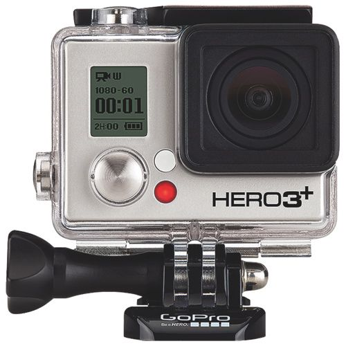 GoPro HD Hero3+ Waterproof High-Definition Sports & Helmet Camera - Black Edition