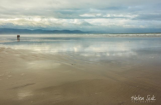 A secluded beach in the Dingle Peninsula, Ireland. Find more images of amazing Inch Beach in the blog post.