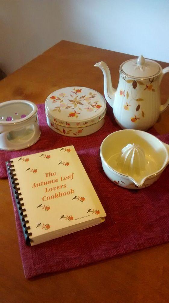 Hall Jewel Tea Company Assorted Items #Hall