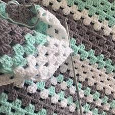 Bildresultat för virkad babyfilt mönster