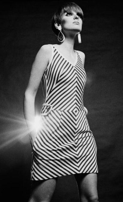 Love the stripey effect  Grace Coddington in 1966 Photo: Eric Swayne