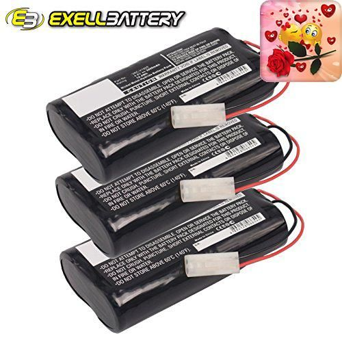 #super #Exell EBVB-118 Ni-MH 4.8V Battery Fits EURO PRO Shark Vacuums The Exell EBVB-118 Ni-MH 4.8V Battery has better performance (higher capacity) and reliabil...