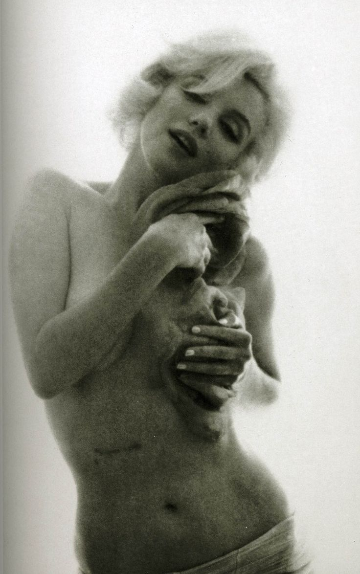 from Wayne marilyn monroe nude stomach
