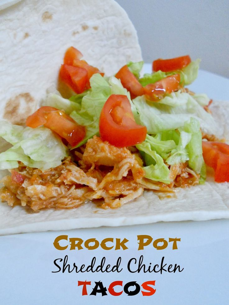 Ally's Sweet and Savory Eats: Crock Pot Shredded Chicken Tacos
