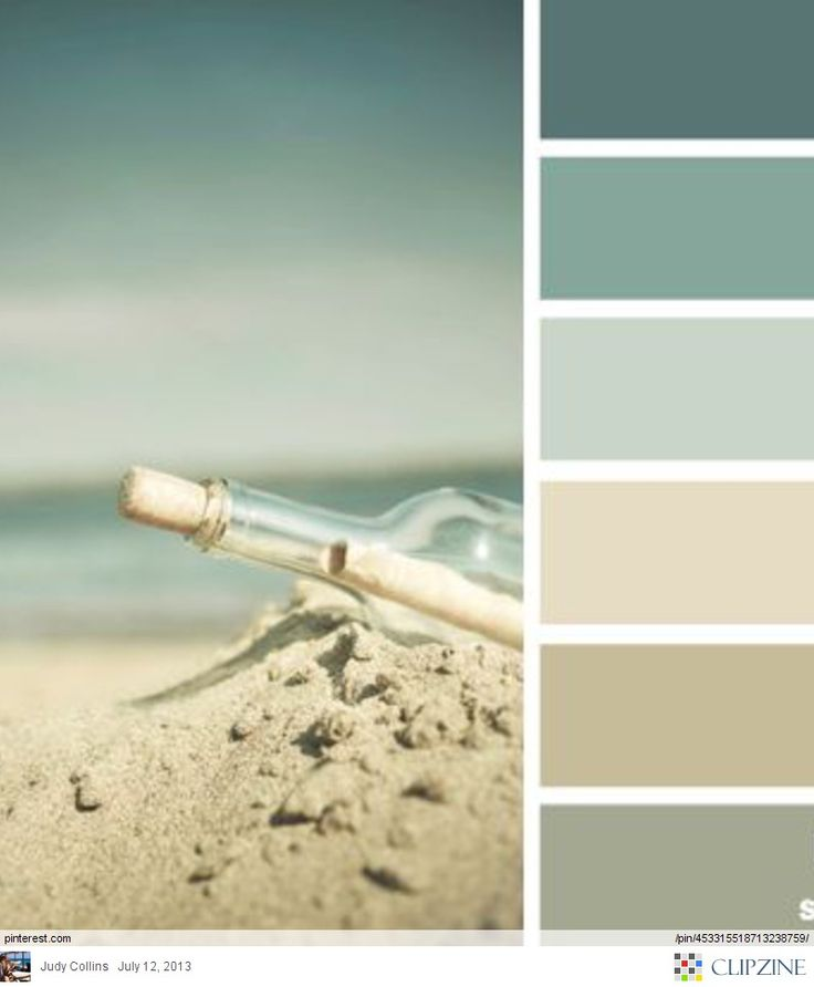 Beachy colors. Nice for a bedroom or bathroom. Flattering colors for a bathroom and relaxing for a bedroom.