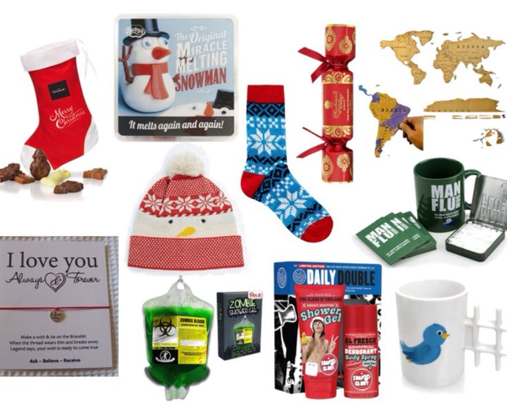 Lots of Christmas stocking filler ideas for men, all under £10!