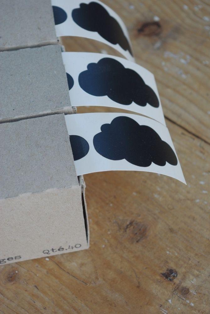 Image of Distributeur de 40 nuages noirs (sticker)
