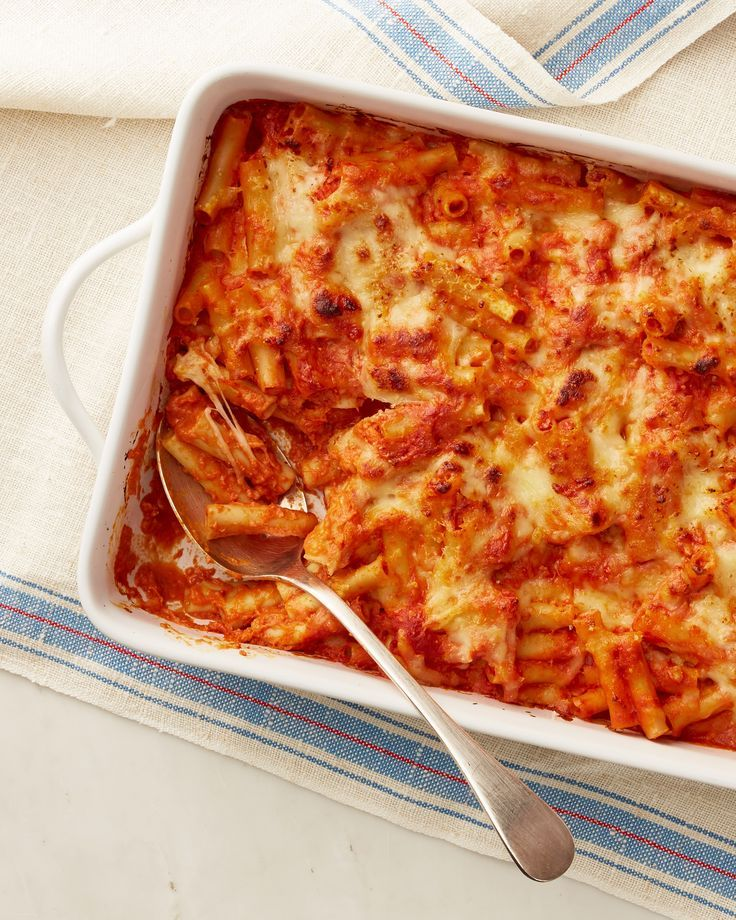 This Baked Pasta Meal Will Please Everyone Meal Train Recipes Pasta Bake Baked Ziti