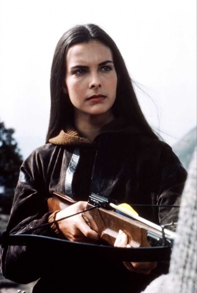Carole Bouquet as Melina Havelock in For Your Eyes Only -1981