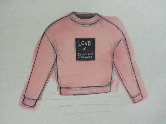 love sweat shirt