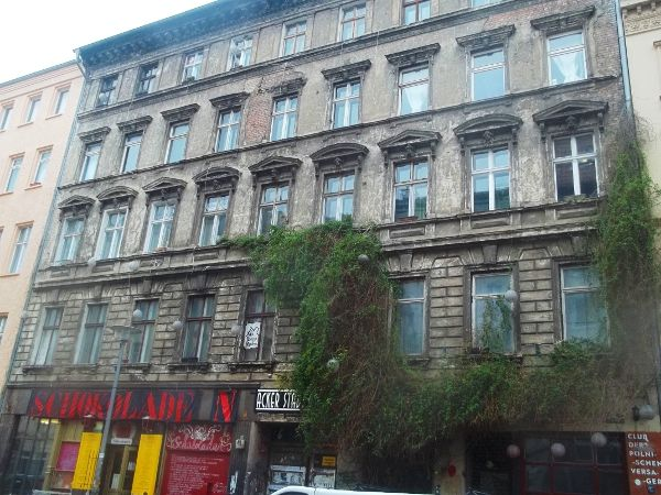 The east side of Ackerstrasse, Berlin-Mitte