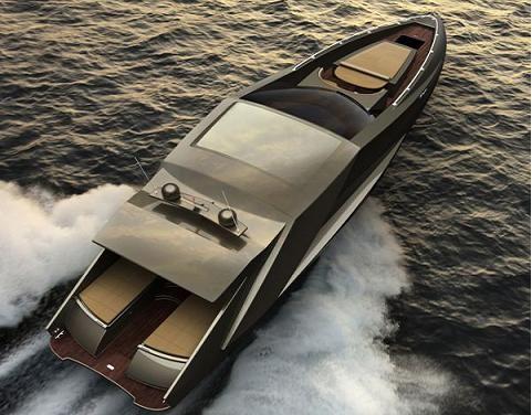 Lambo yachtWater, Mauro Lecchi, Boys Toys, Dreams, Lamborghini Yachts, Luxury Yachts, Cars, Things, Speed Boats