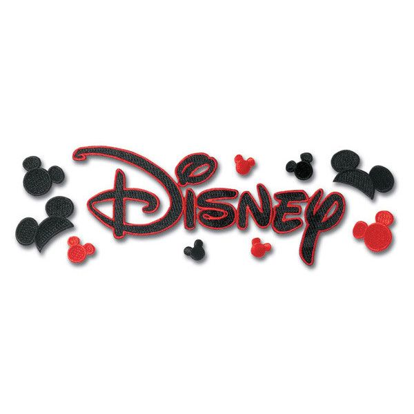 Disney Word Embroidered Sticker ($4.18) ❤ liked on Polyvore featuring disney, quotes, words, backgrounds and fillers