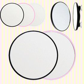 Gmarket - Round shaped suction shaving 3x magnifying mirror/면도용 흡착식 확대거울/확대경/남자친구선물/아빠선물/답례품/손거울/탁상거울
