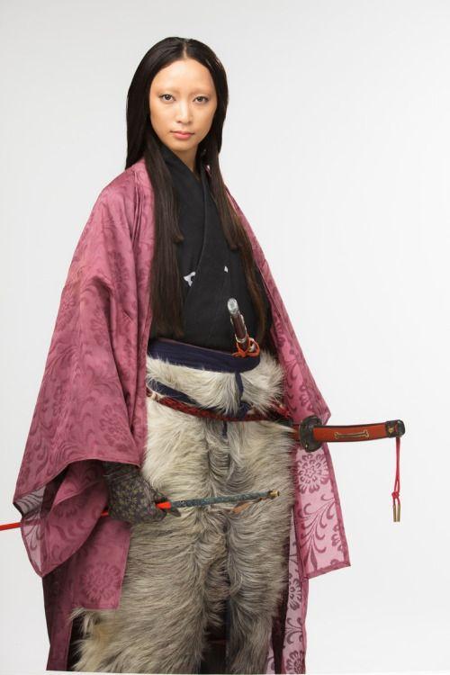 Hōjō Masako as played by Anne Watanabe