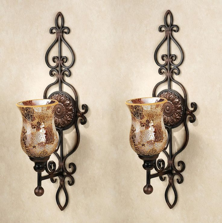 Decorative Wall Sconces Candle Holders | Unique wall ... on Large Wall Sconces Candle Holders Decorative id=46980