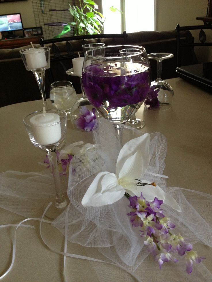 Best wedding center pieces images on pinterest