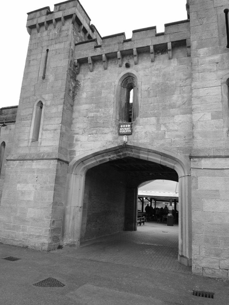 Alton Towers, Staffordshire, England. 2014 Alton castle